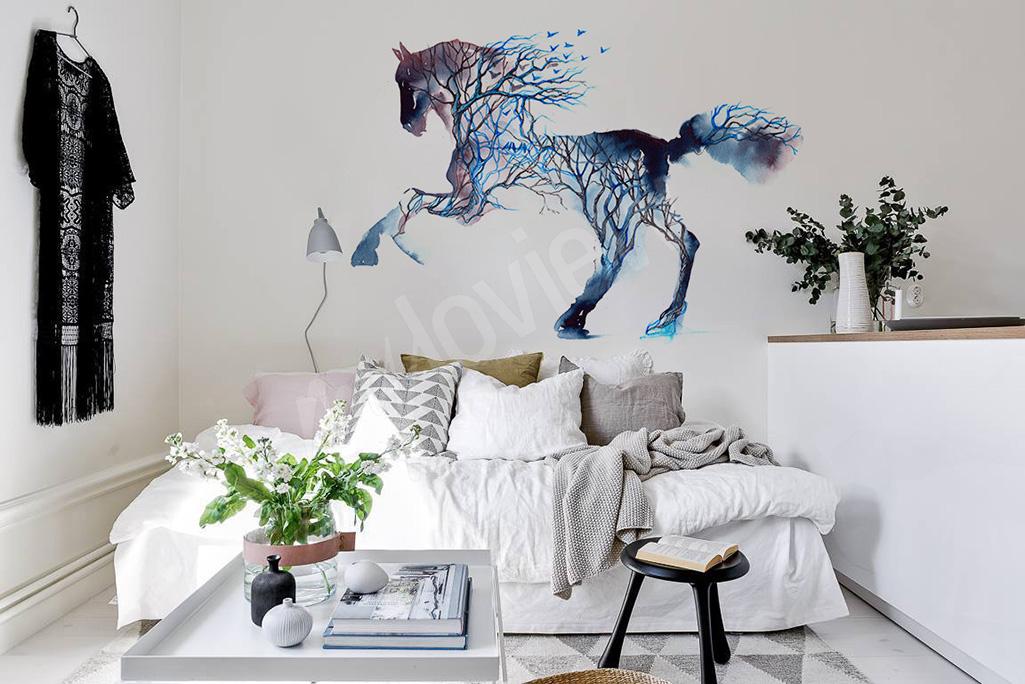 Tapeta z koniem na ściane