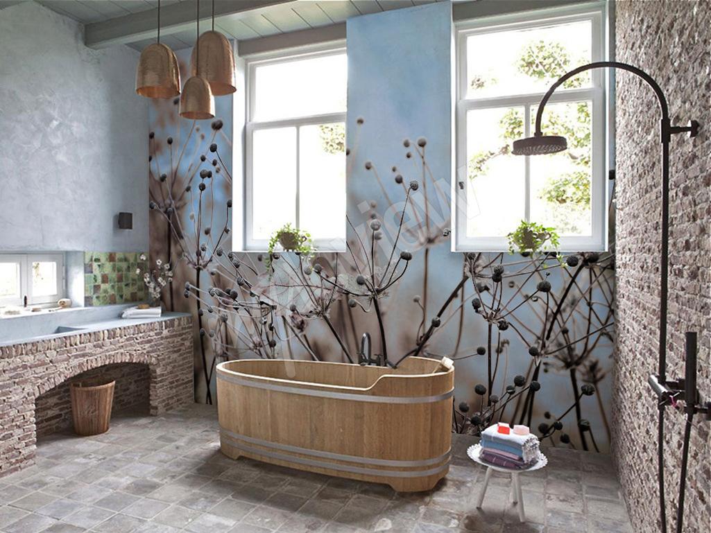 łazienka W Rustykalnym Stylu Myloviewpl