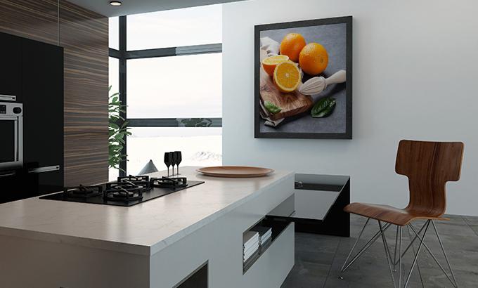 obraz do kuchni owoce pomarańcze