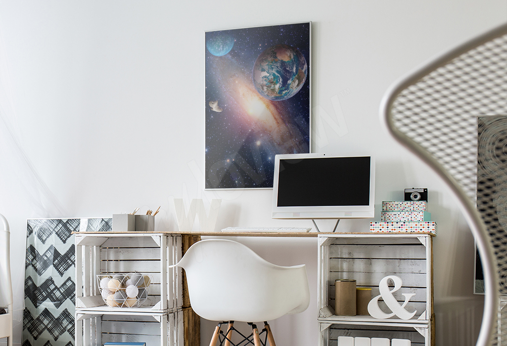 Plakat z kosmosem do pokoju nastolatka