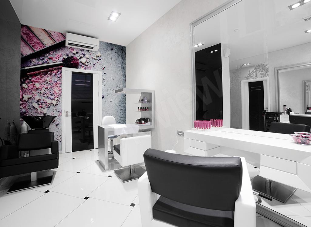 Fototapeta do salonu fryzjerskiego i salonu piękności