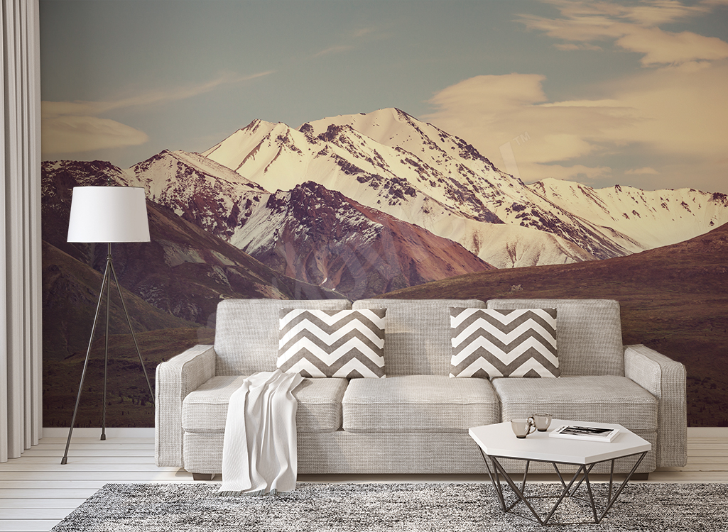 Fototapeta zimowy krajobraz