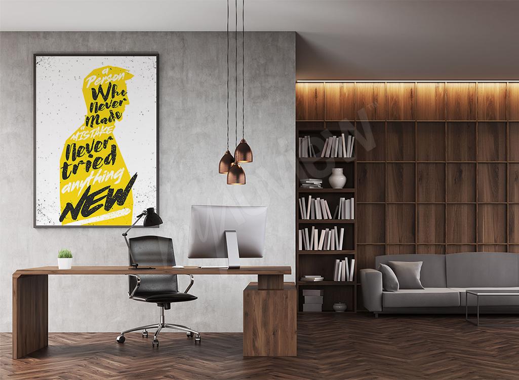 Plakat motywacyjny do biura