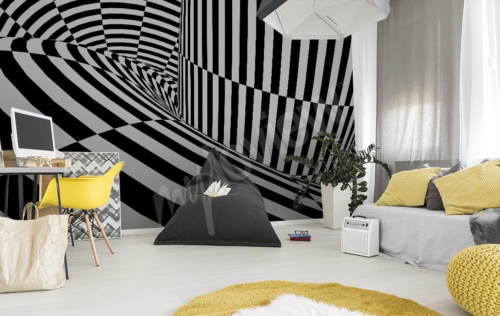 Fototapeta do pokoju młodzieżowego abstrakcja
