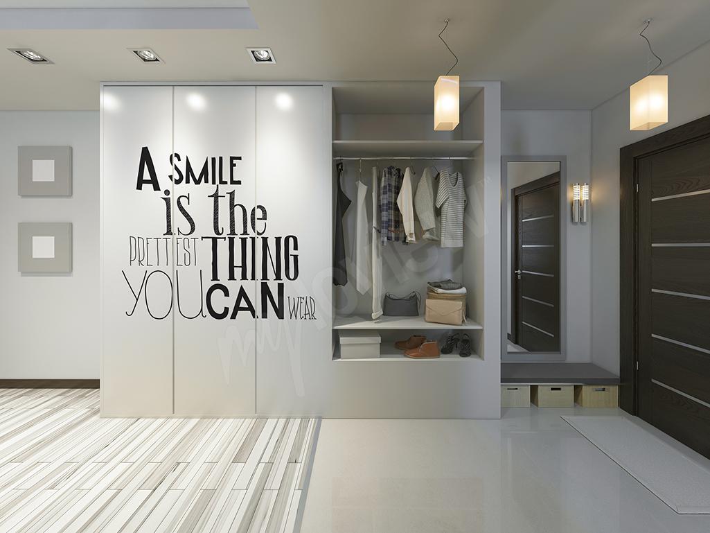 Fototapeta na szafę typografia