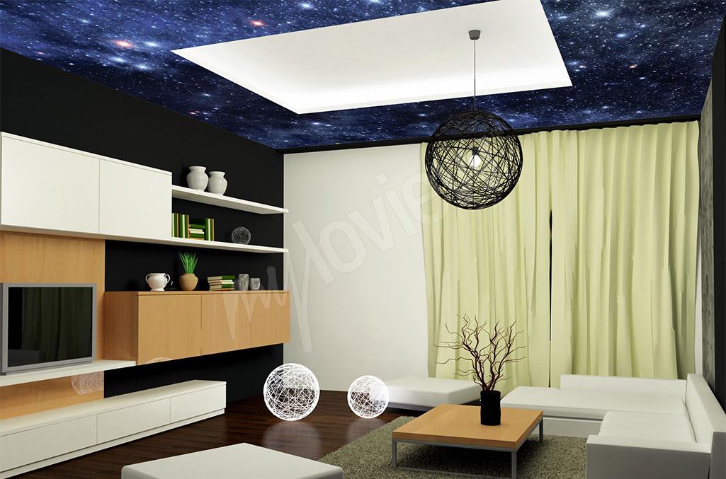 Fototapeta kosmos na sufit