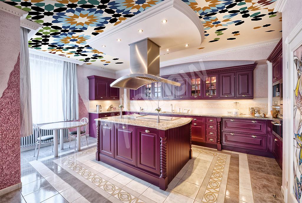 Fototapeta na sufit mozaika - Myloview.pl, inspirację przygotował: Dawid