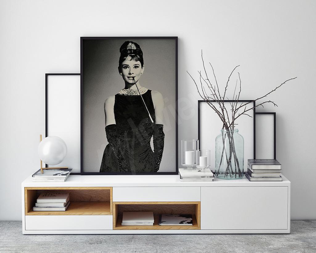 obraz retro Audrey Hepburn