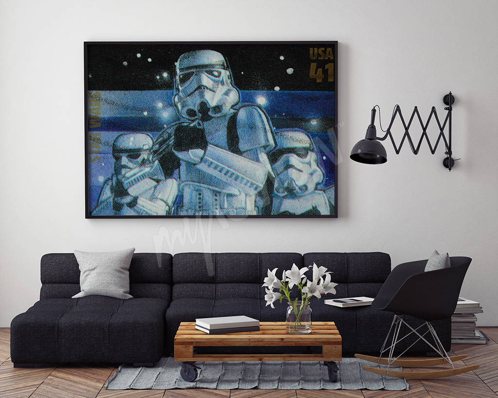Plakat Star Wars Gwiezne Wojny
