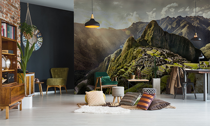 Fototapeta z górskim krajobrazem do salonu