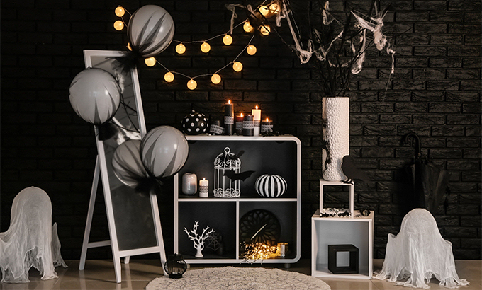 Dekoracje domu z okazji Halloween