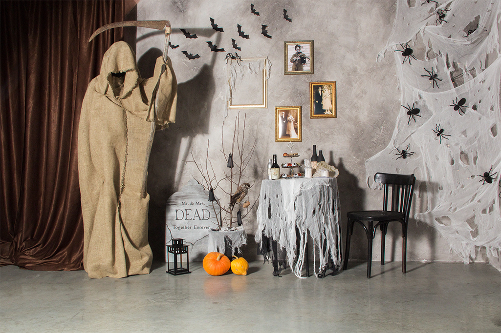 Wystrój domu na halloween