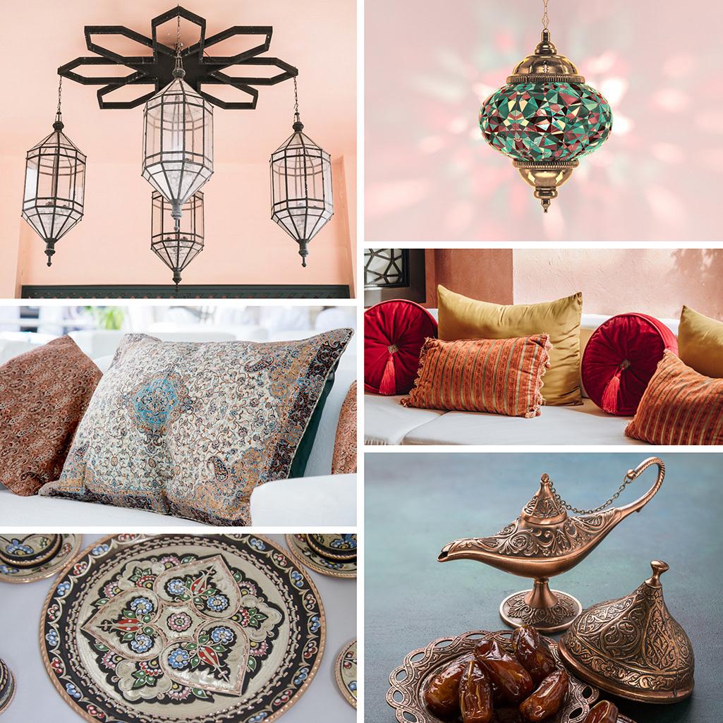 Dekoracje w stylu arabskim