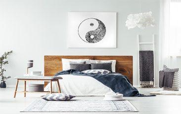 Obraz symbol yin yang