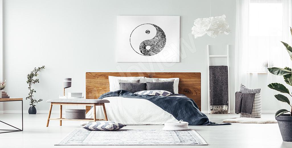 Obraz symbol yin yang do sypialni
