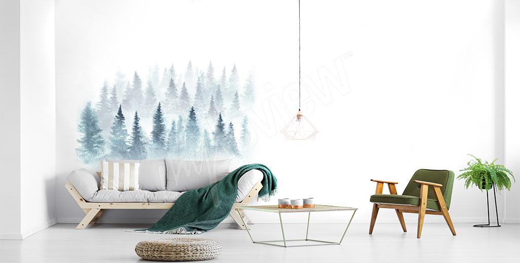 Fototapeta zimowy las