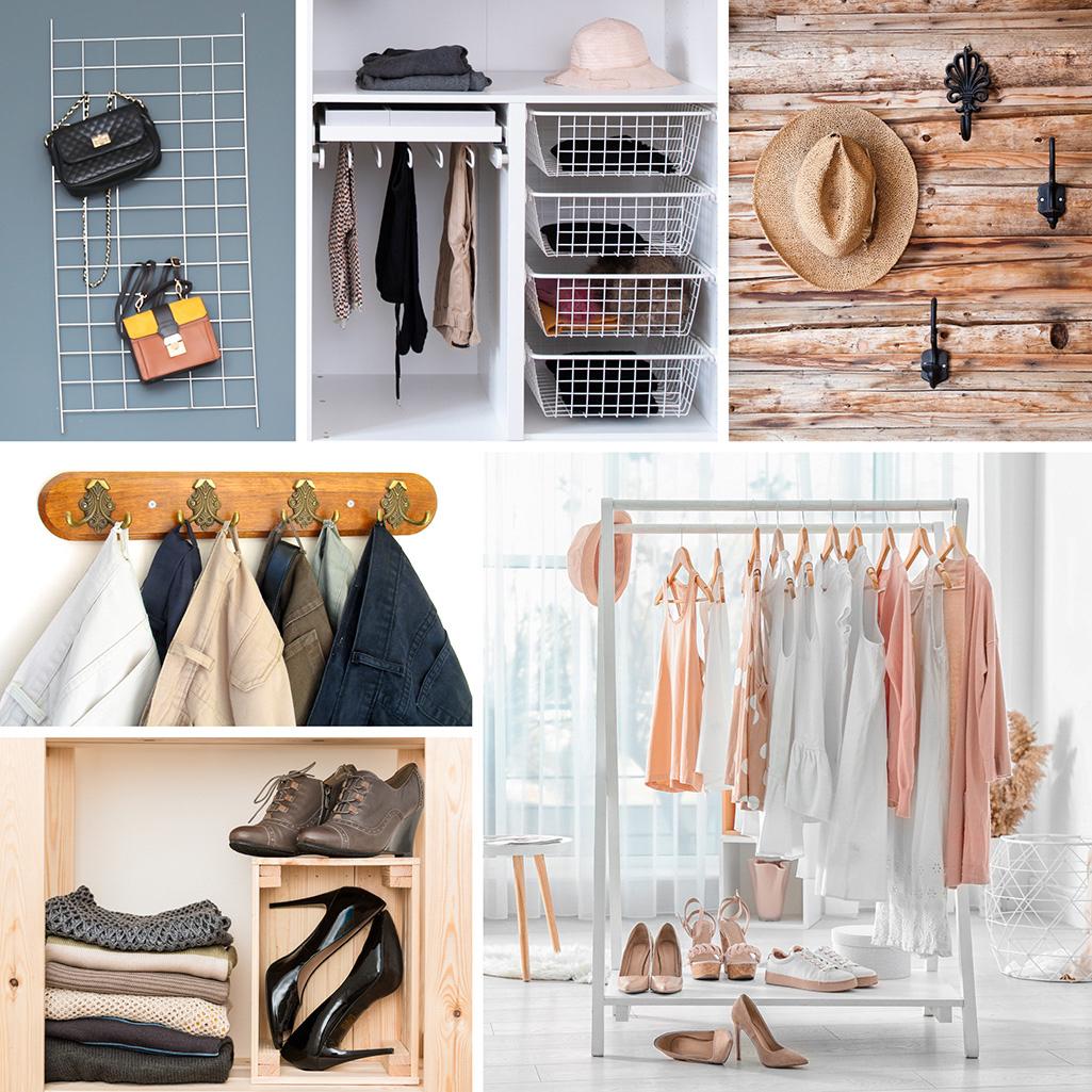 Sposoby na przechowywanie ubrań