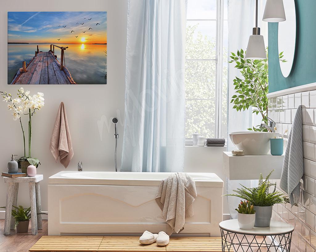 Obraz w morskim stylu do łazienki