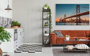 Obraz z krajobrazem San Francisco