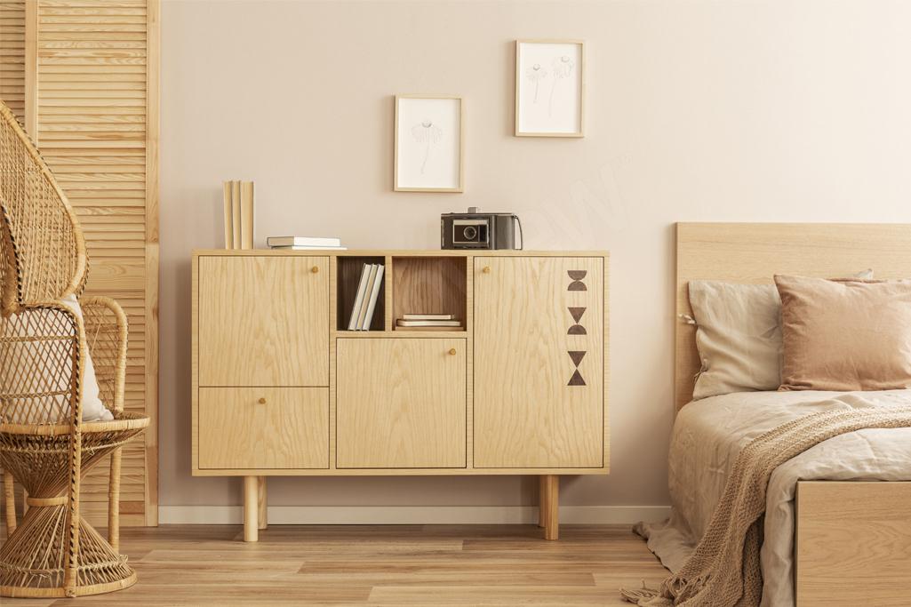Naturalne surowce kluczem do udanej, minimalistycznej aranżacji mieszkania