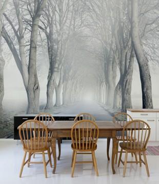 Aleja we mgle