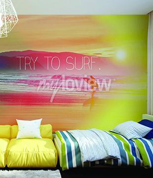 Fototapeta Try to Surf
