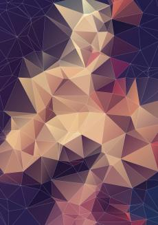 Abstrakcyjne tło geometryczne - deseń