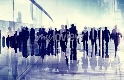 Obraz Ethnicity Business People Professional Occupation Office Concept