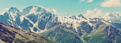 Fototapeta Winter mountains panorama