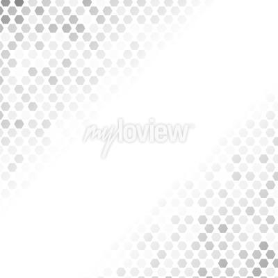 Naklejka Abstract Grey Pattern