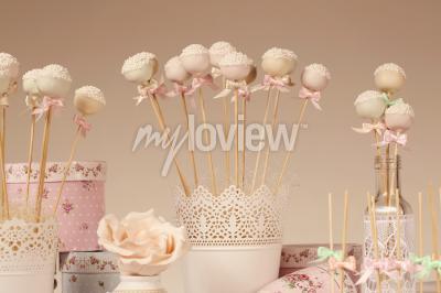 Fototapeta Cake pops
