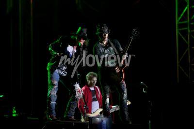 Fototapeta Guns N' Roses performs at EXIT 2012 Music Festival