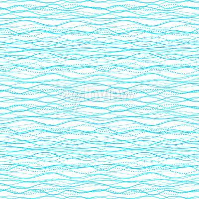 Tapeta Abstract Wave seamless