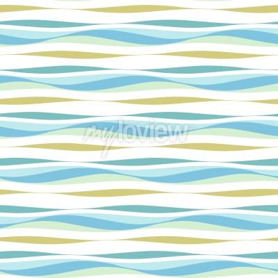Tapeta Abstract ocean waves background