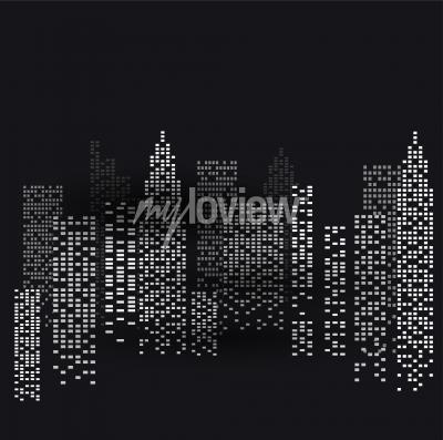 Plakat New York at Night