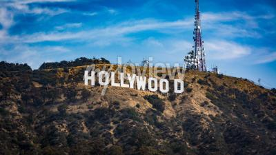 Plakat Hollywood sign Los angeles
