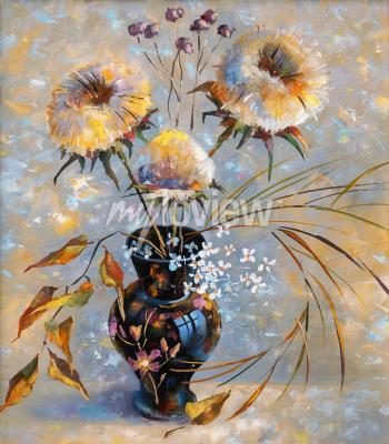 Obraz Artwork. Dry flowers. Author: Nikolay Sivenkov