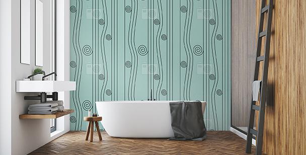 Abstrakcyjna tapeta wodospad