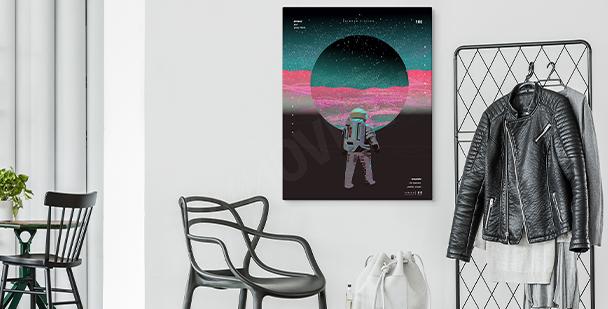 Abstrakcyjny obraz kosmos