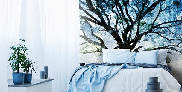 Fototapeta drzewa w dżungli