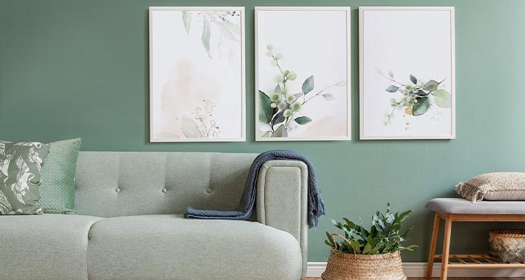 5 oryginalnych plakatów do salonu w każdym stylu