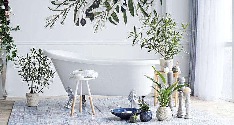 Poznaj dekoracje do łazienek, które odmienią dotychczasową aranżację