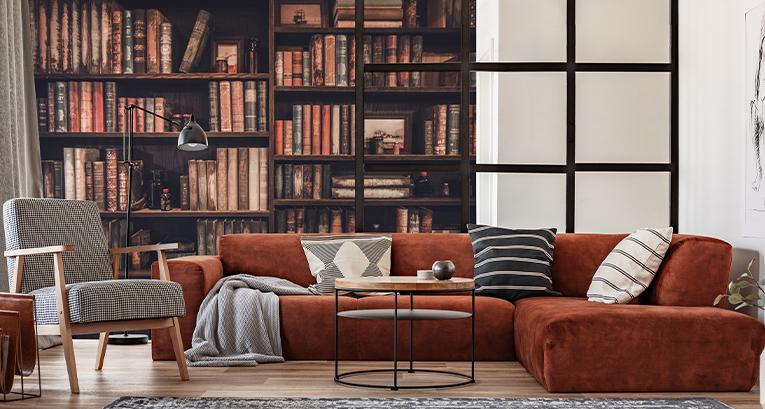 Domowa biblioteka – aranżacje, które pokocha każdy mól książkowy!