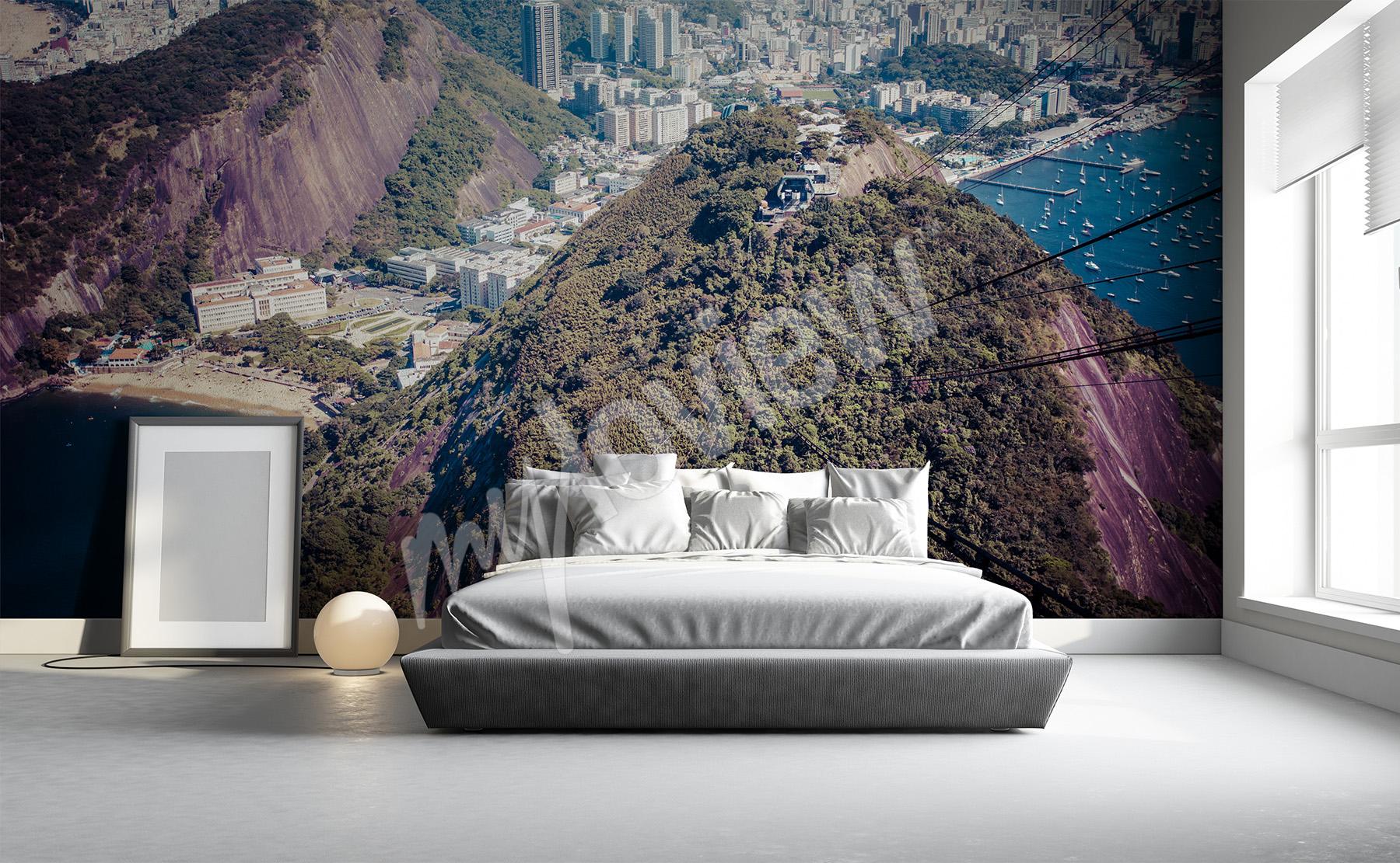 Fototapety g ry cienne na wymiar - Murales camera da letto ...