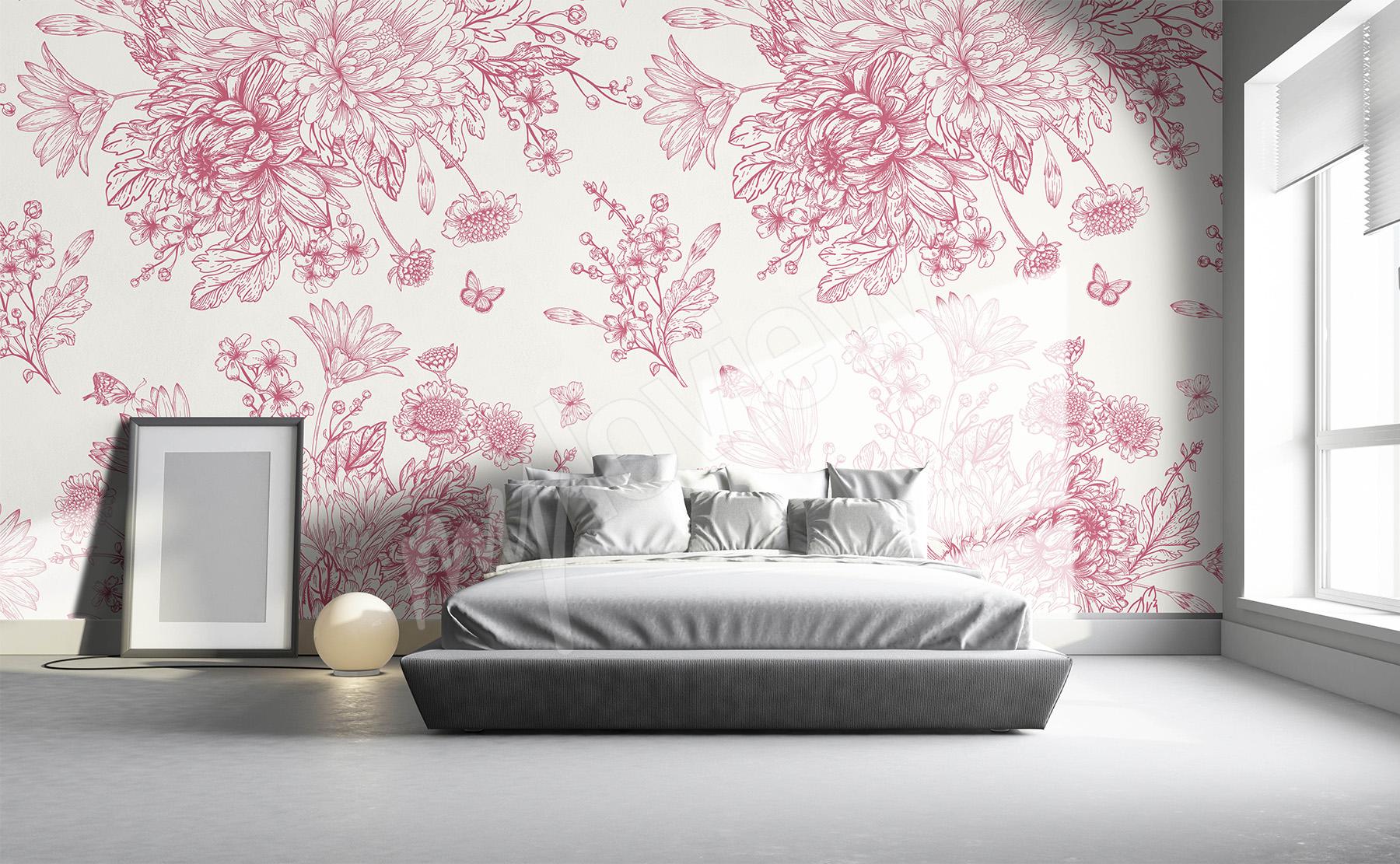 adac79be80c4c4 Fototapeta kwiaty • motywy kwiatowe | sklep myloview.pl