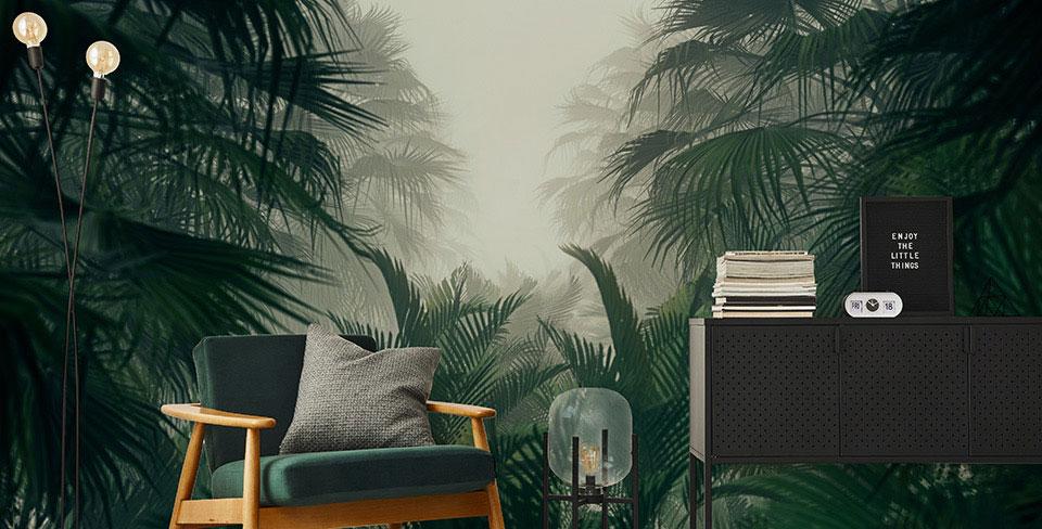 Fototapeta tajemnicza dżungla