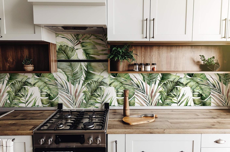 Fototapeta liście palmy