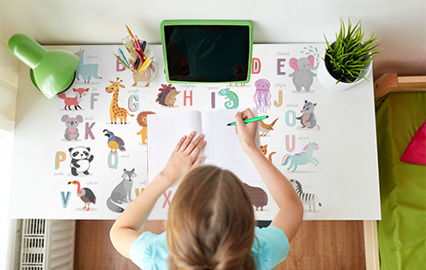 Idealny pokój do nauki dla dziecka i nastolatka? Podpowiadamy, jak go urządzić!