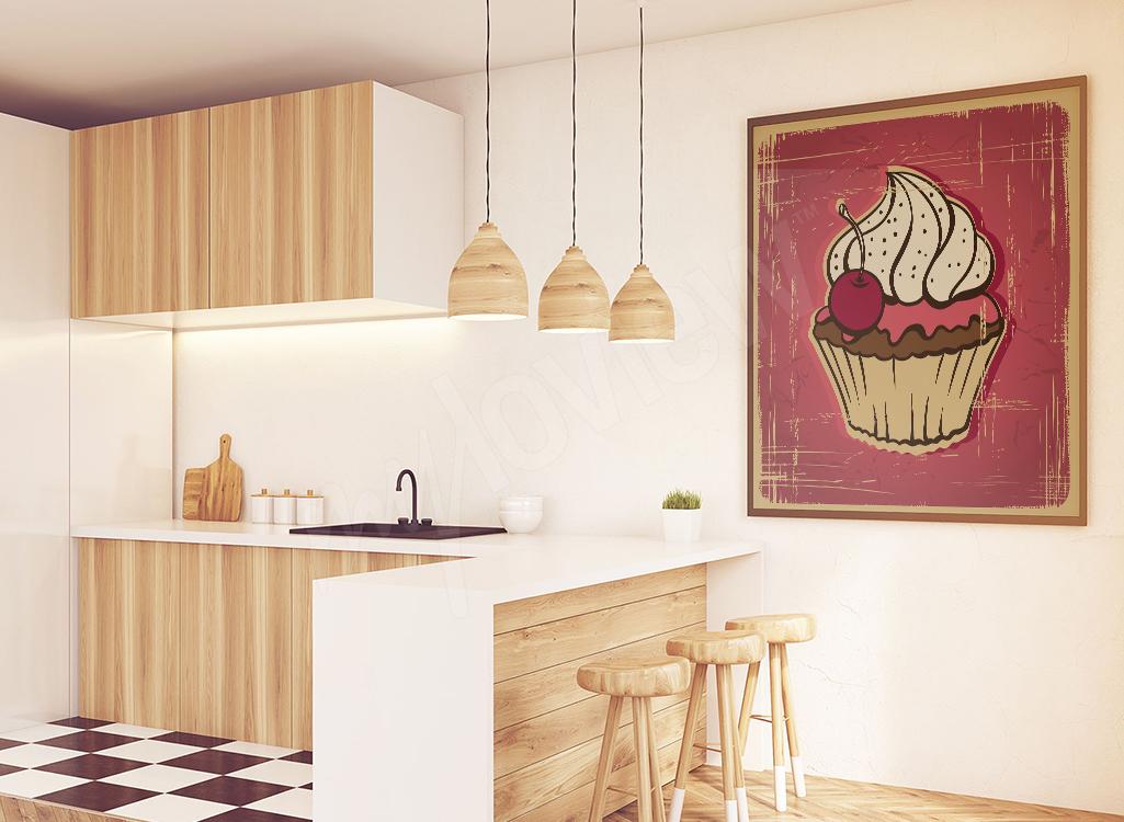 Obraz do kuchni retro