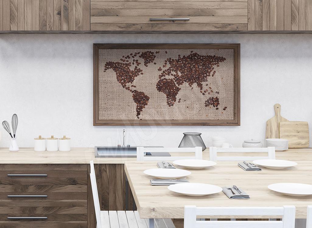 Obraz do kuchni ziarna kawy